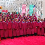 Aby Choir Today Show Rockefeller Center