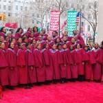Aby Choir Today Show Rockefeller Center