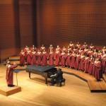 Choir Lincoln Jazz Wide Shot