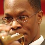 Horn Player Close Up