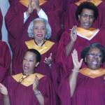 Worship Choir Clapping Hands