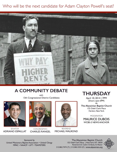 13th Congressional District Candidate Debate