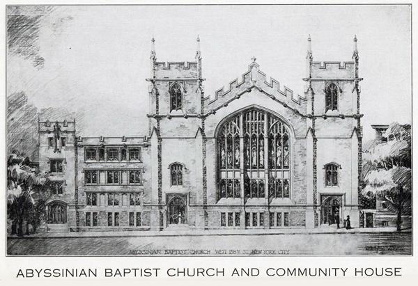 History Abyssinian Baptist Church